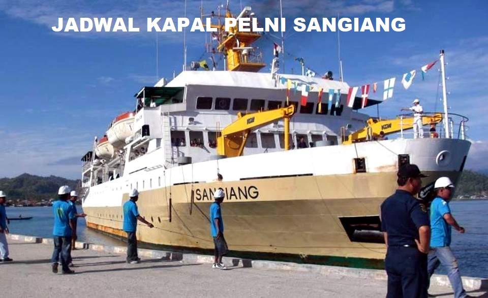 jawdal kapal pelni sangiang